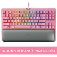 Razer Blackwidow Chroma V2 Games Keyboards RGB Backlight USB 2.1m Wired Mechanical Gaming Keyboard for LOL PUBG Games