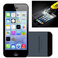 2 unids/lote 5S Front + Back alta calidad de Cristal Templado para el iphone 5c 5 Protector de Pantalla de Cine