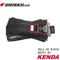Free Shipping Kenda High Quality Mountain Bikes Folding Tires 26x1 95 For MTB