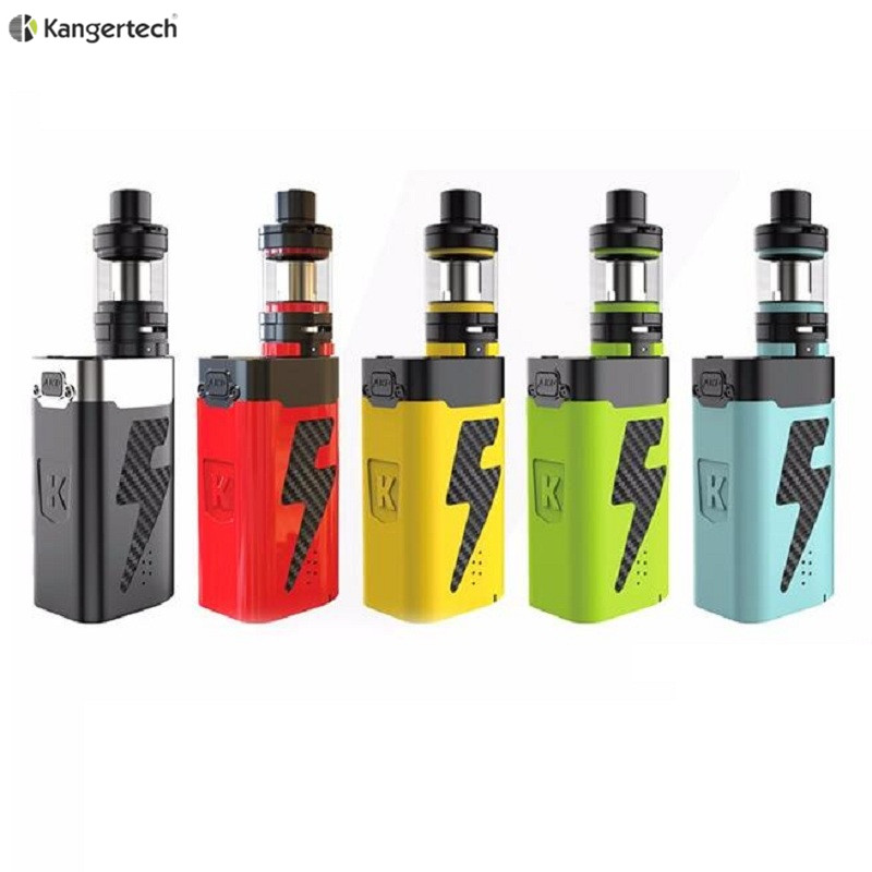 100% Original Kanger Five 6 222W Powerful Kit with 8ml Liquid Capacity Powered by Five 18650 Batteries