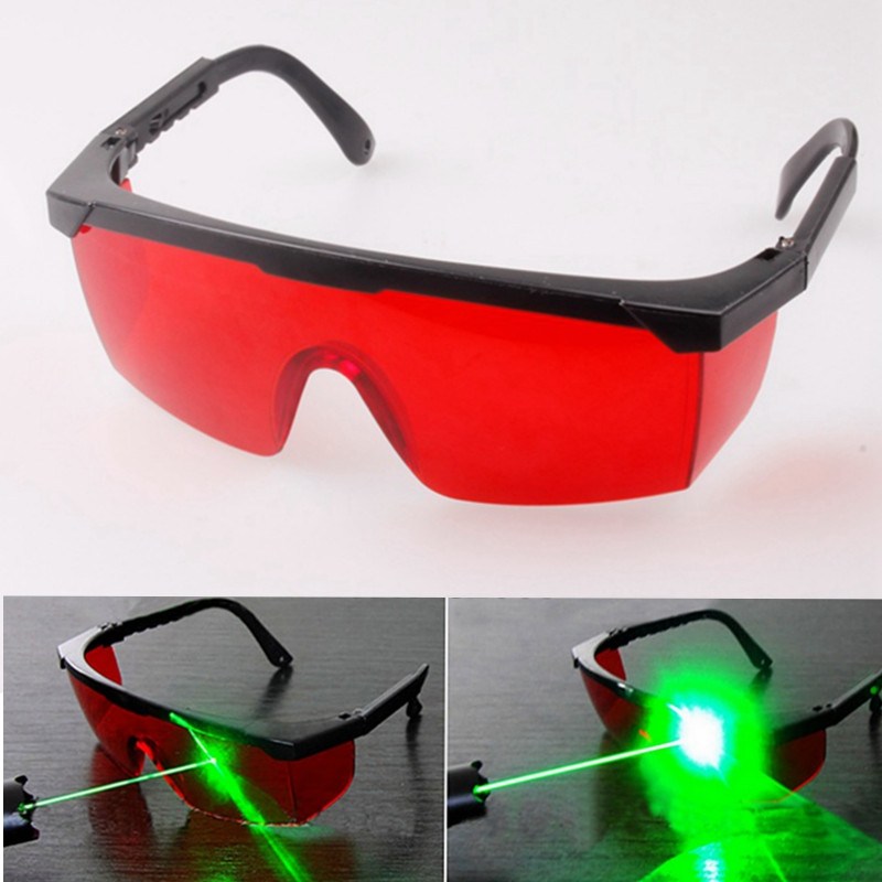 NEW  All-round Absorption Red Laser Protection Glasses For 532nm Green Light Laser Pointer Hot Sale Free Shipping high quality all round absorption blue laser protection safely security goggles glasses for 650nm red light laser pointer
