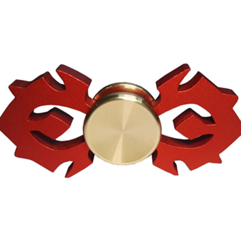 New 5 Style Bat Hand Spinner EDC Tri Spinner Alloy and Brass Toys Fidget Spinner ADHD