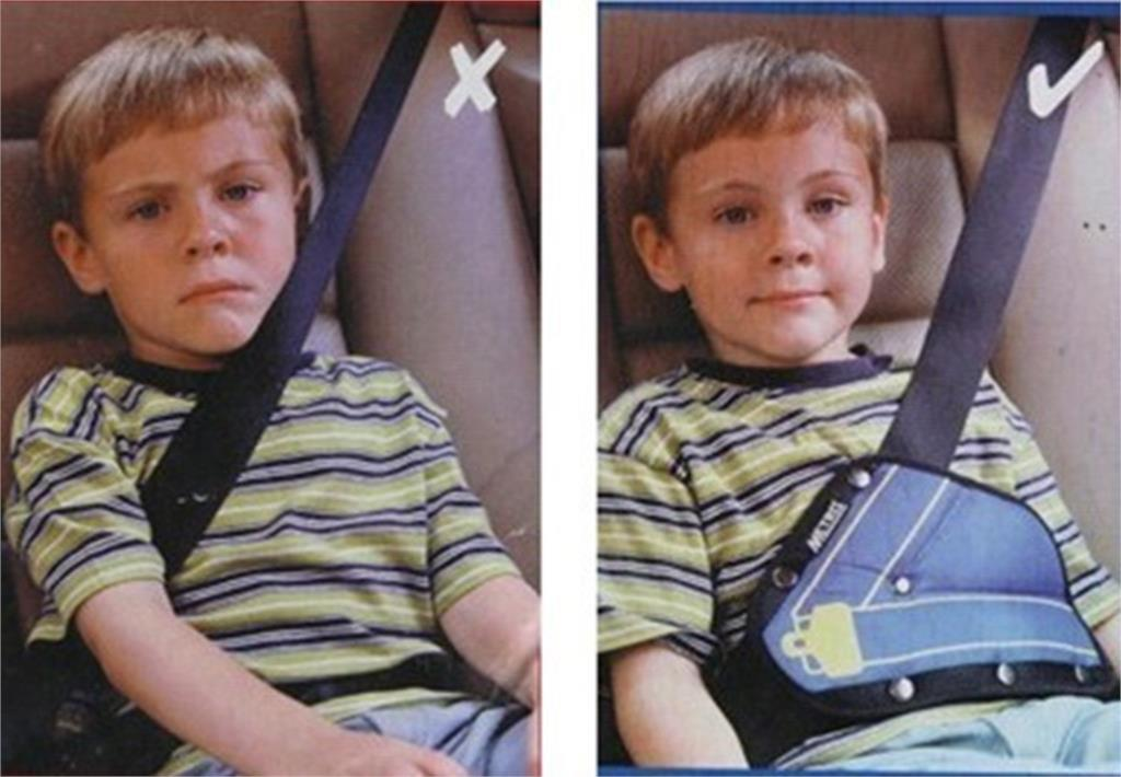 1 Piece Random Color Baby Care Car Seat Safety Belt Triangle Protect Children Car Safety Belt Adjustable