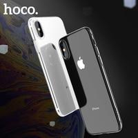 HOCO 2018 Weiche TPU Fall für iPhone XS Transparent Schutzhülle Ultra dünne Schutz Für iPhone XS Max iphone XR schlank shell
