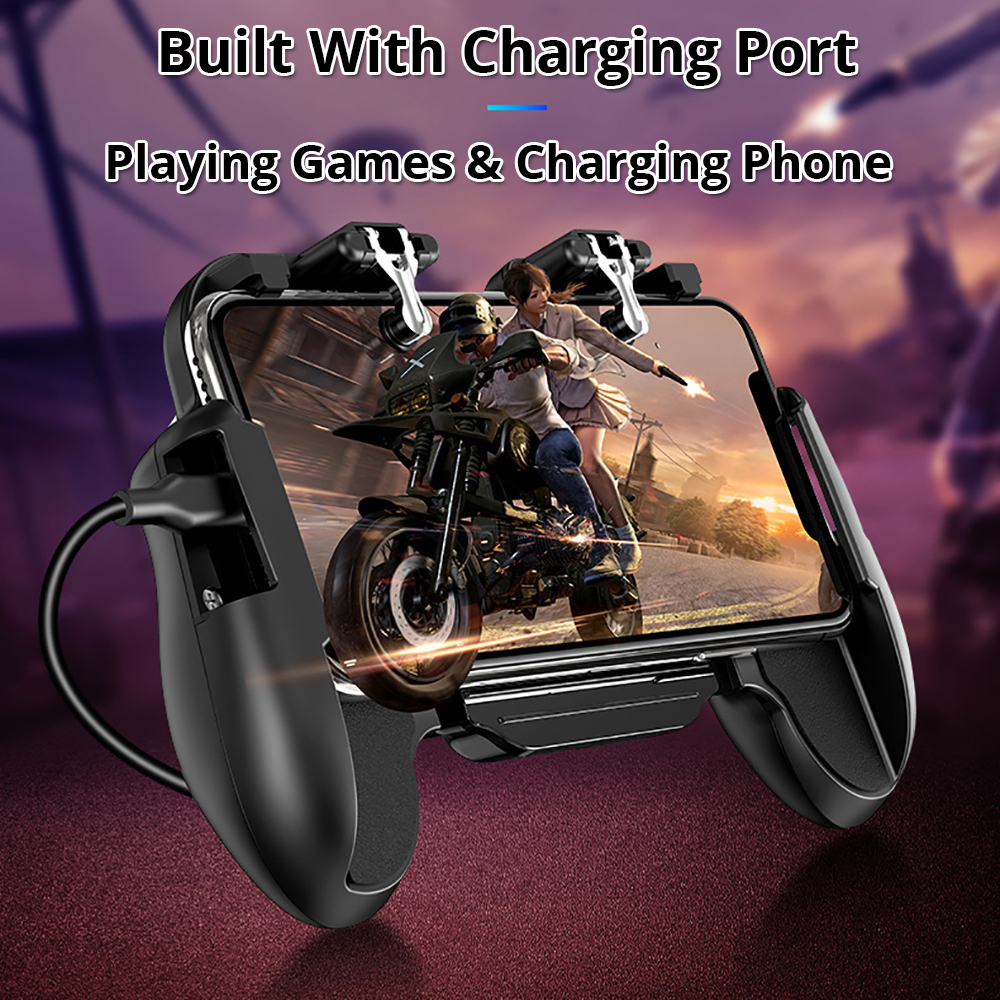 game controller built with charge port