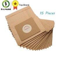 15 Pcs Algemene Stofzuiger Stof Papier Zakken 100*110 Mm Diameter 50 Mm Stofzuiger Accessoires Onderdelen