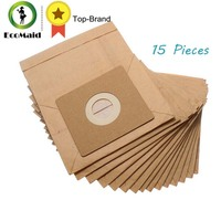 15 Pcs General Vacuum Cleaner Dust Paper Bags 100 110mm Diameter 50mm Vacuum Cleaner Accessories Parts