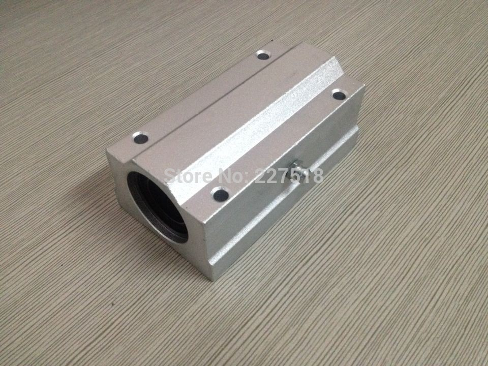 4pcs SC8LUU SCS8LUU 8mm Linear axis Ball Bearing block, Lengthen Bearing pillow Bolck Linear unit for CNC 1pc scs50uu 50mm linear guide linear axis ball bearing block with lm50uu bush pillow block linear unit for cnc part