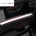 Автомобильный Стайлинг интерьера Ручки Обложки отделка двери Чаша наклейки декоративные для Mercedes Benz S Class W222 2014-2017 автомобильные аксессуары