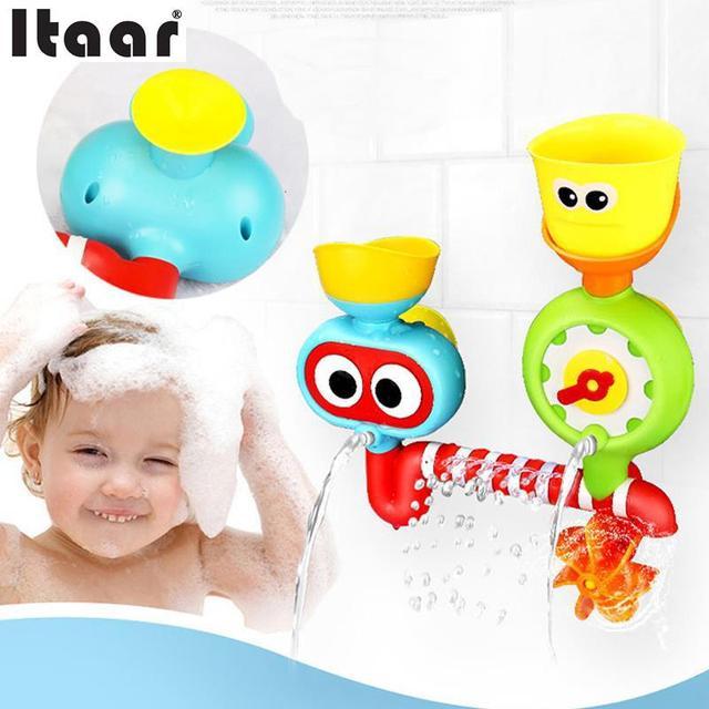 Coloridos Brinquedos para o Banho de Aspersão de Água Da Torneira Torneiras Automáticas Para As Crianças Do Bebê