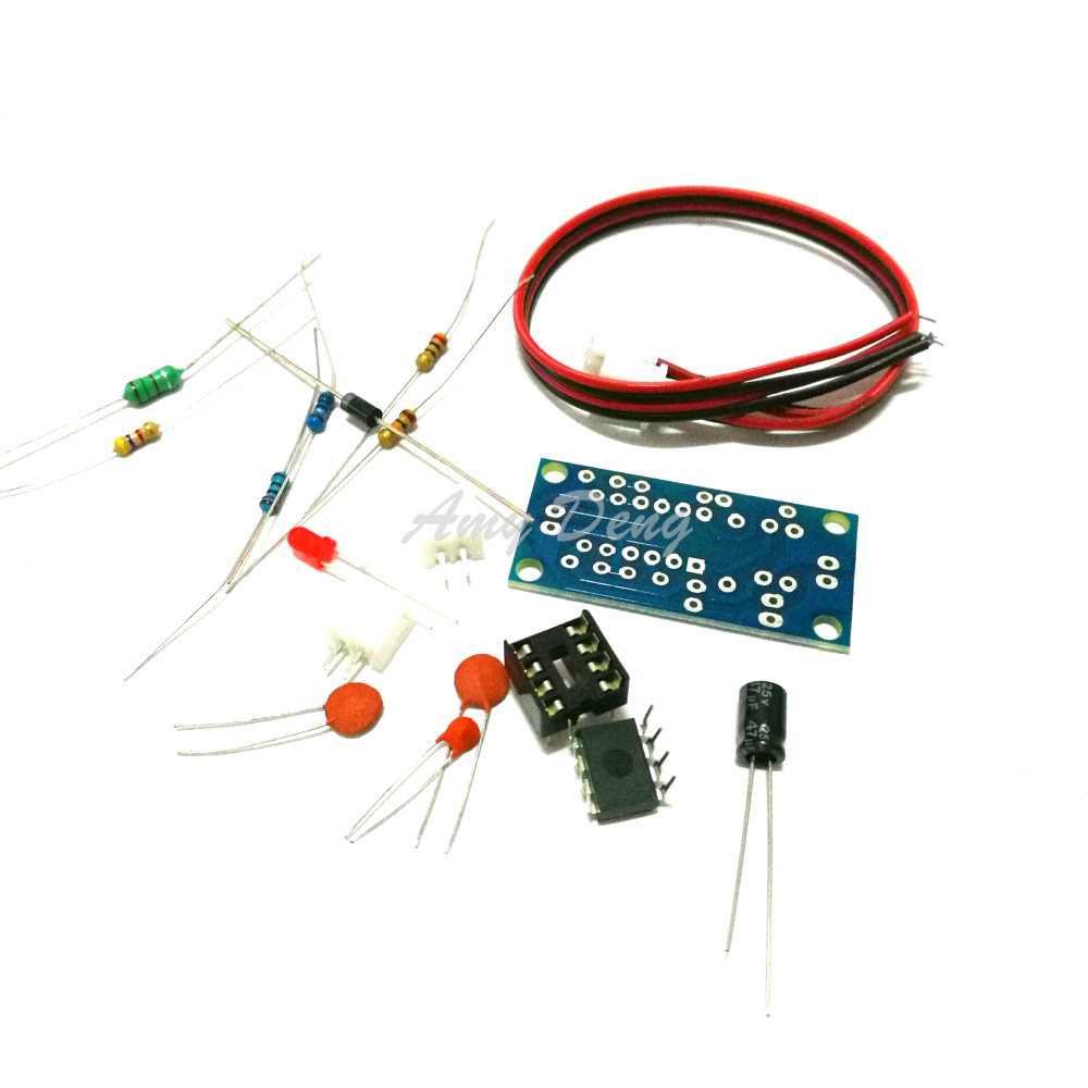 12V Liter 5V boost board boost module electronics production suite send circuit diagram MC34063 Module Kit