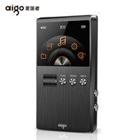 AIGO M6plus HiFi Loseless Audiophile музыкальный плеер мастер звук DSD 128 Professional Портативный MP3 плеер 128 г Поддержка