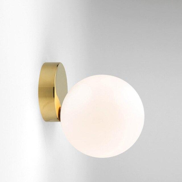Controlla il prezzo Moderna Lampada Da Parete In Vetro Led Riparo ...