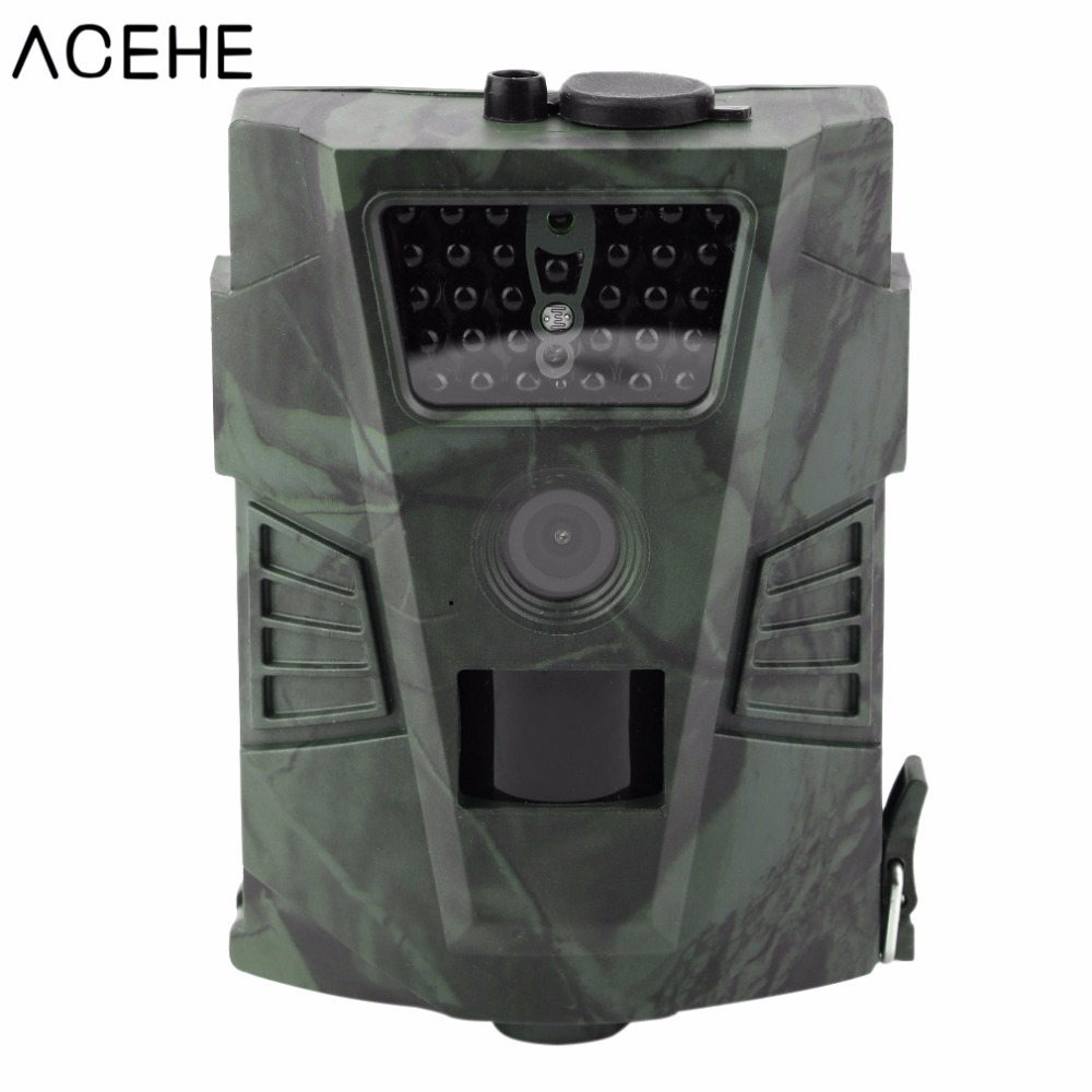ACEHE 720P 60 Degrees 12MP Hunting Camera 1S Trigger 20M Night Vision Outdoor Digital Hunting Trail Wildlife Camera Without LCD s миф ol30 30 60 720
