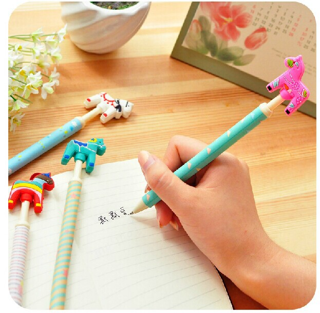 crazy office supplies. (8 Pieces/lot) Cute Crazy Pony Gel Pen Student Creative Papelaria School Office Supplies Stationery Material Escolar-in Pens From \u0026 O