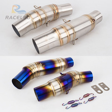 motorcycle exhaust  pipe stainless steel fit for 51mm Convertor Adapter Z1000 z1000 link 2010-2016