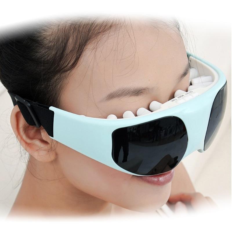 Healthsweet 22 Neodym Magnetic Particles Augenmassagegerät Brille - Gesundheitsvorsorge