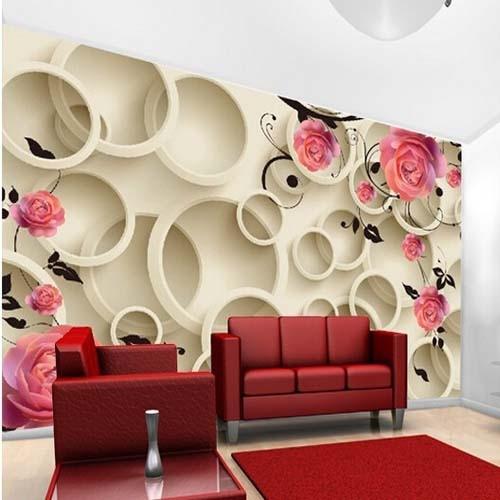 Three Dimensional Wall Art popular wood circle wall art-buy cheap wood circle wall art lots