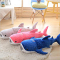 100CM Blue Whale Shark Doll Pillow High Quality Lovely Shark Doll Cushion Pillow Doll Stuffed Plush Toy Doll For Christmas Gift