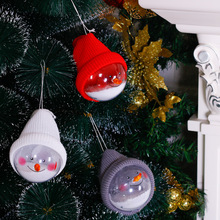 2019 New Year Christmas Tree Hanging Ornaments Snowman Ball Doll Pendant Christmas Festival