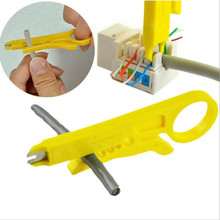 1pc Portable Stripping Knife Crimping Tool Cable Telephone Pliers Multi-tool Wire Cutting