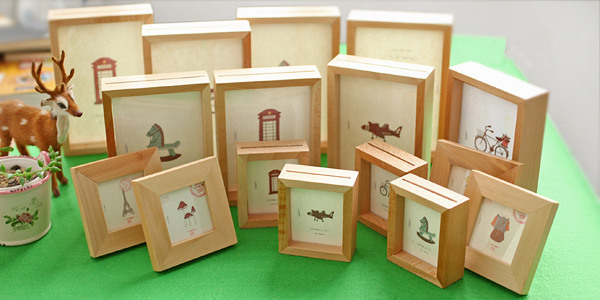 new wholesale pine small wooden frame-in Frame from Home & Garden on ...