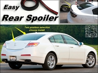 Root Rear Spoiler For Acura TL Trunk Splitter Ducatail Deflector For TopGear Friends Easy Tuning Free