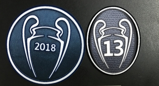 10 pics a lot New 2018+13 times+respect+2018 champions league real madrid  patch Patches Soccer patch Soccer Badge 8265437e4c2a8