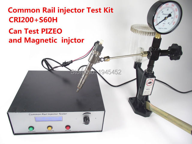 common rail injecteur testeur kit cri200 support magn tique et piezo injecteur test sh60. Black Bedroom Furniture Sets. Home Design Ideas