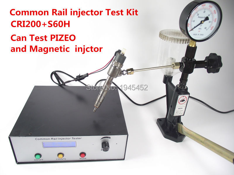 buy common rail injector tester kit cri200 support magnetic and piezo injector. Black Bedroom Furniture Sets. Home Design Ideas