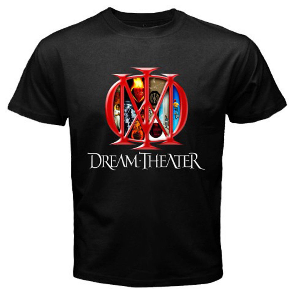 Fashion Logo Printing T Shirts New Dream Theater Logo Men S T Shirt