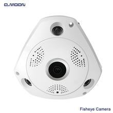 360 grados de fisheye Lente 1.3MP resulotion Panorámica 3D Cámara de Visión Nocturna Inalámbrica de Seguridad CCTV Cámaras De Vigilancia