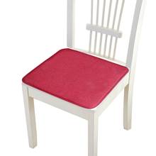 40x40cm Solid Color Square Seat Pad Chair Cushion Non-slip S