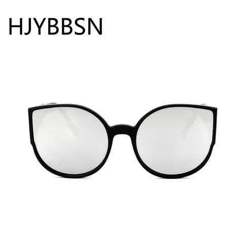 HJYBBSN Round Cat Eye Women`s Sunglasses Water Drip Trendy Vintage Sun Glasses Ladies Ray Bann Mirror Goggle Sunglasses Driver Karachi