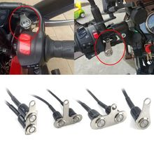 12V/5A Motorcycle Handlebar Switch Universal Waterproof Headlight On/Off Button Adjustable Mount For ATV Dirt Electric Bike