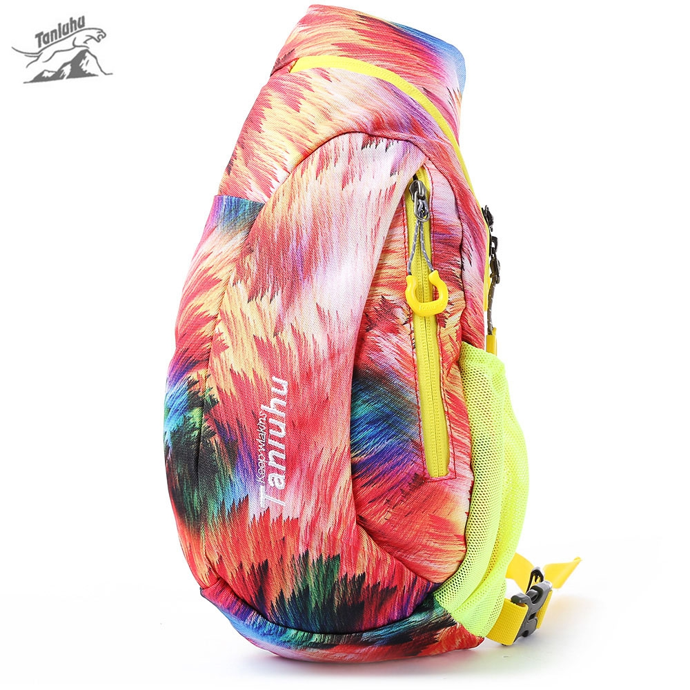 20L Outdoor sports climbing chest pack Sport Lightweight Breathable Nylon sling bag Colorful shoulder bags