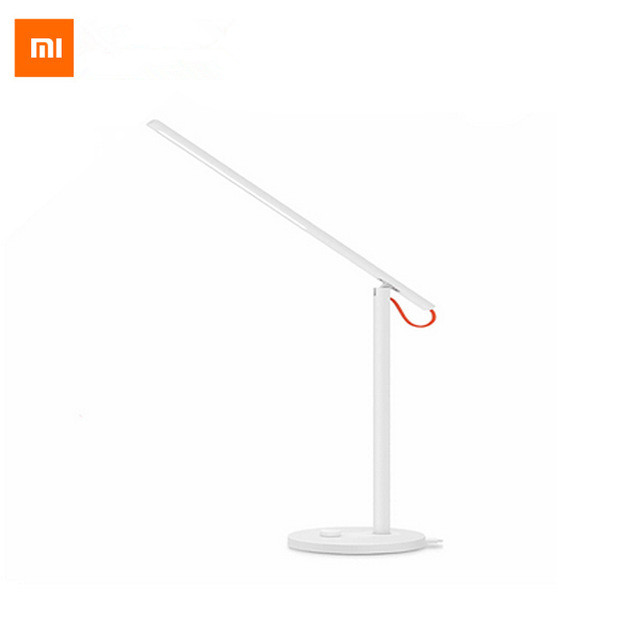 ФОТО Original Xiaomi Mijia LED Desk Lamp Smart Table Lamps Desklight Support Smart Phone App Control 4 Lighting Modes