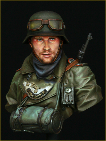 Assembly Scale 1 10 WW2 Germany officer Historical figure WWII Resin Model Free Shipping Unpainted