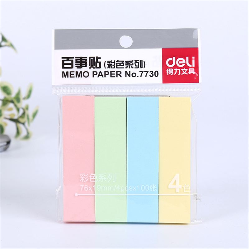 Colored Cute Kawaii Sticker Memo Pad Stationery Store Post it Sticky Note Paper Notepad Deli DIY Papeleria Scrapbooking Bookmark