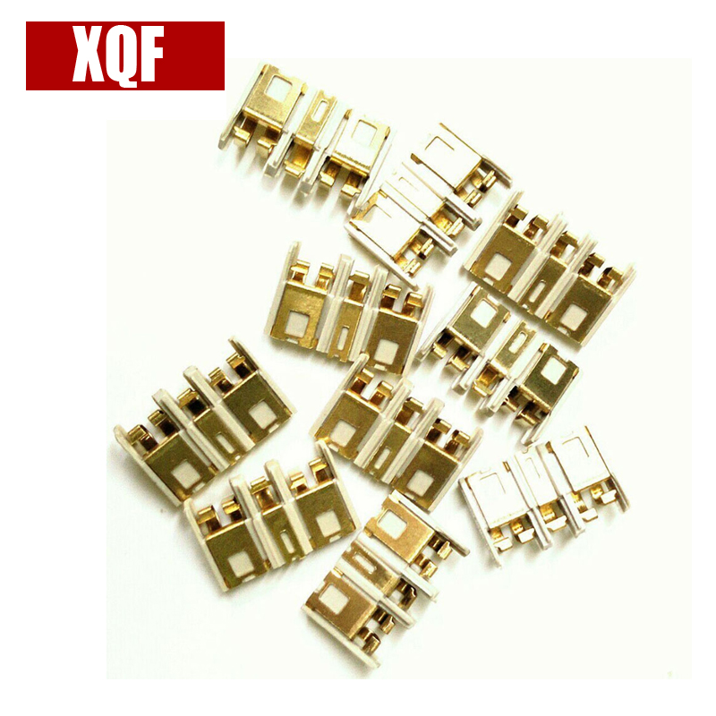 10PCS Power Shrapnel Battery Contact Plate Power Pole For Motorola XPR6300 XPR6500 XPR6550 P8268 GP338D Two Way RadioAccessories