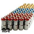 Mofe 44 мм Синий Обода Закрыть Конец Гоночный Автомобиль Колесные Гайки M12x1.25 для honda