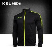 KELME 2017 Для мужчин образ жизни бег Футбол Баскетбол Спорт  интегрированный школа куртки мужской Упражнение Спортивная пальто K.. 8156d363afb