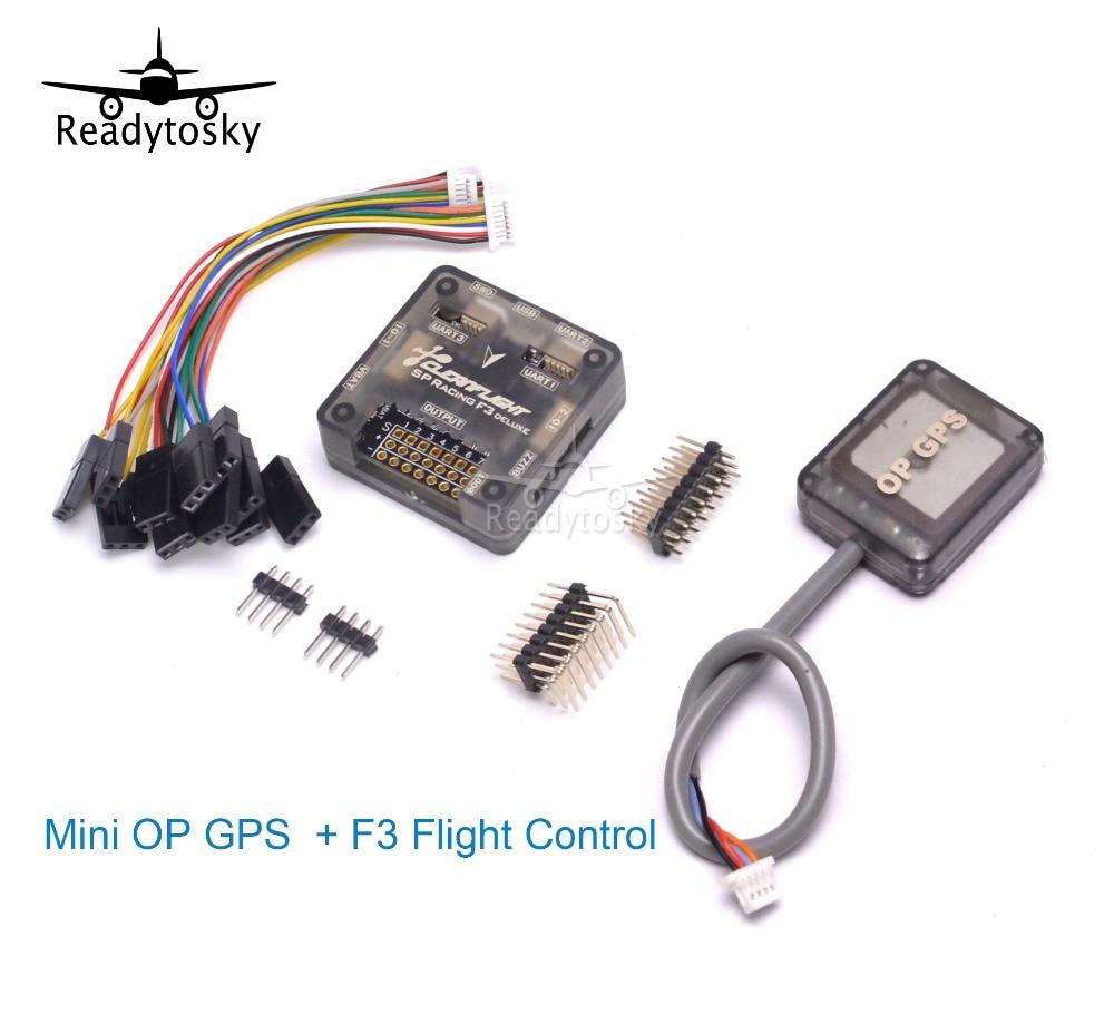 NEW 7 Series Mini GPS OP + F3 Flight Control SP Pro Racing F3 Flight Controller-Cleanflight Perfect For Mini 250 210 Frame