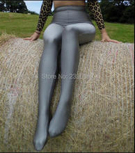 LG013 Unisex Lycra Spandex Tights Solid Color Opaque Zentai Legging Fetish Wear Customize Size