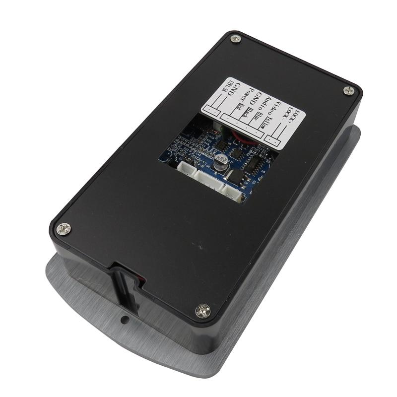 8g Sd Free Shipping New 7 Door Monitor Video Intercom Door Phone Recorder System 2 Monitors Waterproof Rain Cover E-lock