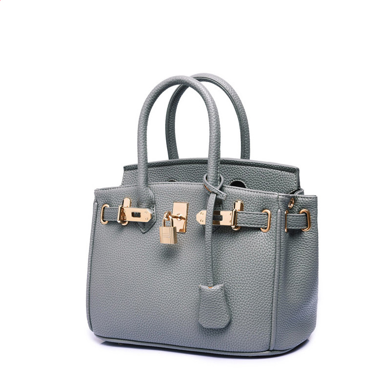 Stylish Lock Closure Ladies Hand Bag Trendy Occident Style High Quality Shoulder Bag Designer Luxury Female
