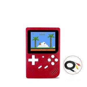 Image 2 - Video Spiel Konsole 8 Bit Retro Mini Tasche Handheld Spiel Player Eingebaute 188 Klassische Spiele für Kind Nostalgischen Player
