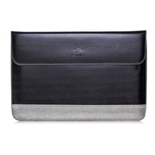 LENTION New Leather-based Pocket book laptop computer Sleeve Case Bag For MacBook Professional/Air 13″ Coloration:Black-Grey Measurement:For 13.3inch