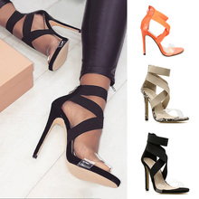 Jelly Transparent High Heels