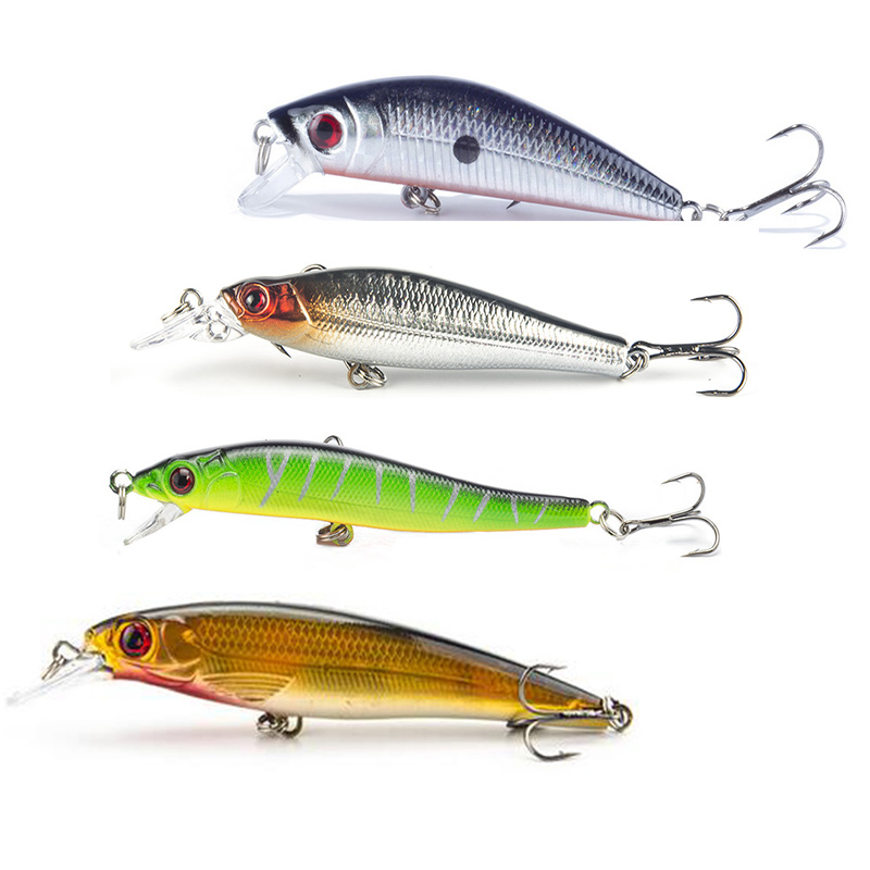Lifelike Minnow And Popper Fishing Lure Wobbler Floating High Quality Artificial Fishing Crankbait Japan Hard Bait Isca wldslure 1pc 54g minnow sea fishing crankbait bass hard bait tuna lures wobbler trolling lure treble hook